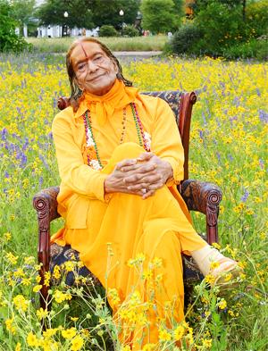 Jagadguru Shree Kripaluji Maharaj at Barsana Dham